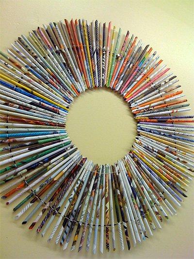 Diy ιδέες ανακύκλωσης από περιοδικά1