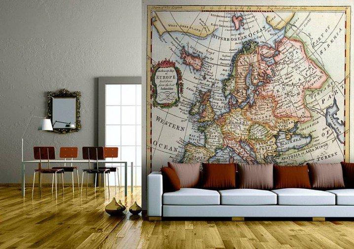 ιδέες για διακόσμηση με χάρτες2