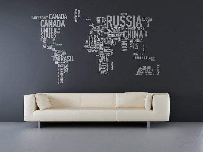 ιδέες για διακόσμηση με χάρτες7