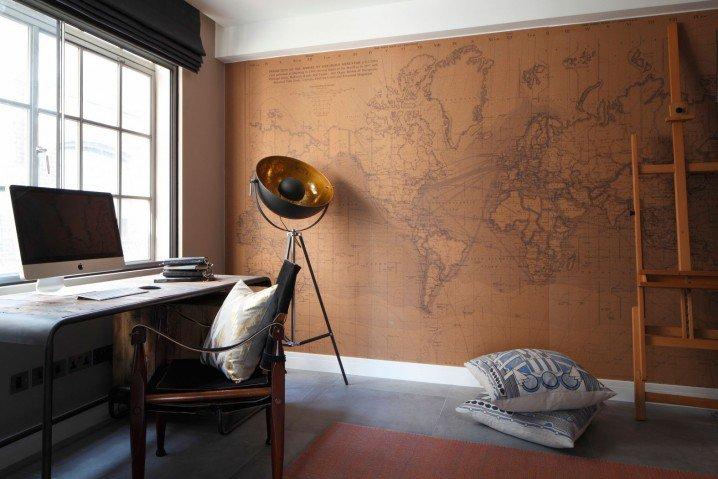 ιδέες για διακόσμηση με χάρτες8