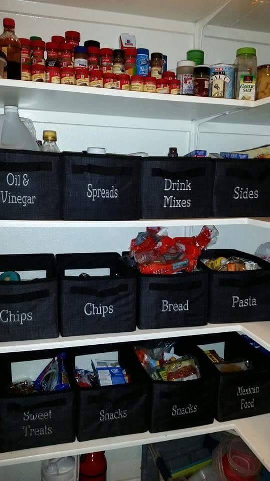 οργάνωση ντουλαπιών αποθήκευσης τροφίμων1