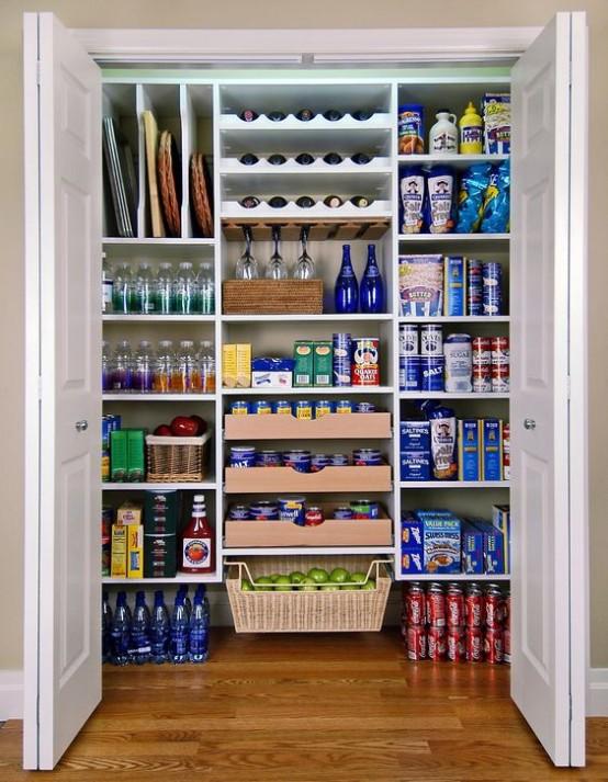 οργάνωση ντουλαπιών αποθήκευσης τροφίμων13