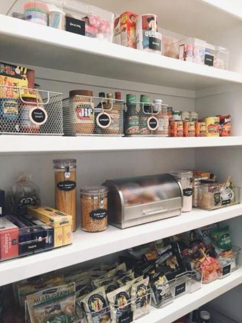 οργάνωση ντουλαπιών αποθήκευσης τροφίμων4