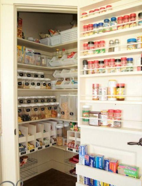 οργάνωση ντουλαπιών αποθήκευσης τροφίμων9