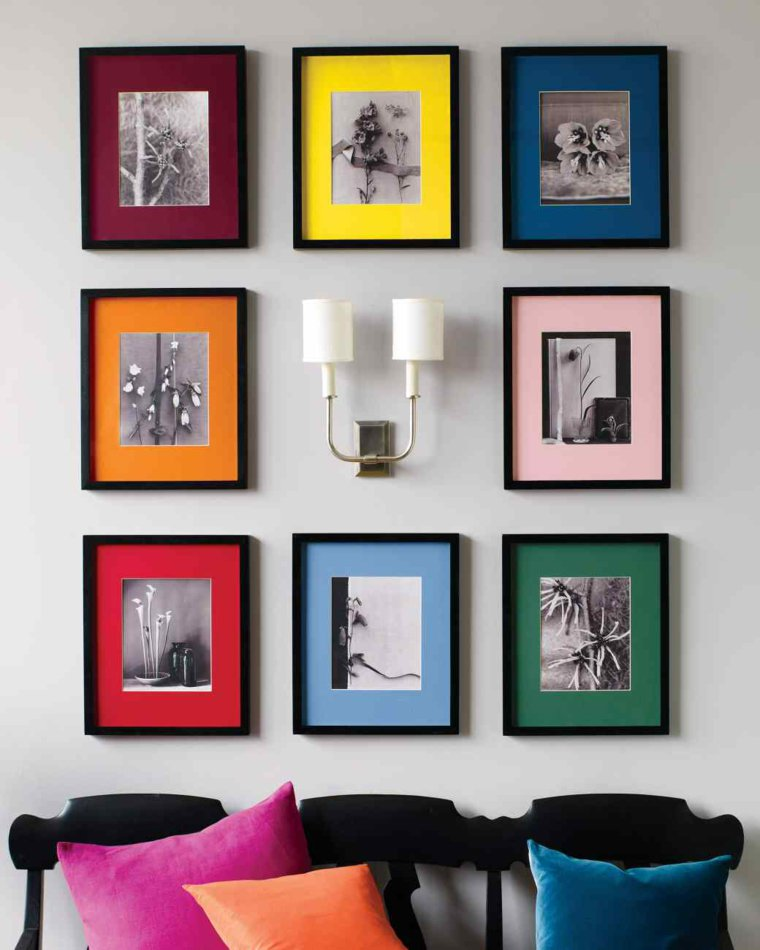 creative ideas to display pictures18