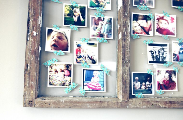 creative ideas to display pictures21