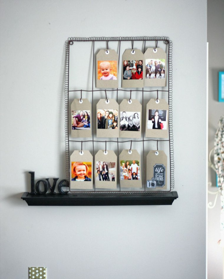 creative ideas to display pictures27