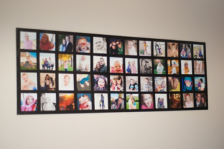 creative ideas to display pictures30