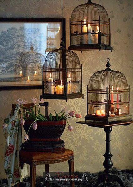 κλουβιά πουλιών στην εσωτερική διακόσμηση16
