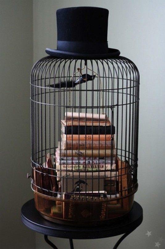 κλουβιά πουλιών στην εσωτερική διακόσμηση19