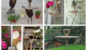 παλιά εργαλεία σε διακοσμητικά κήπου23