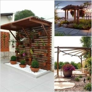 κήπος με πέργκολα ιδέες