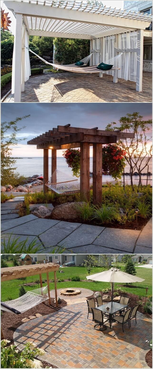 κήπος με πέργκολα ιδέες3