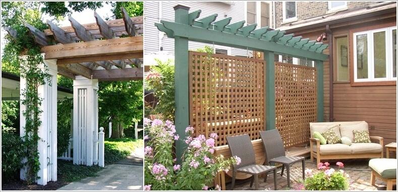κήπος με πέργκολα ιδέες6