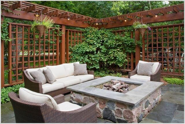 κήπος με πέργκολα ιδέες8