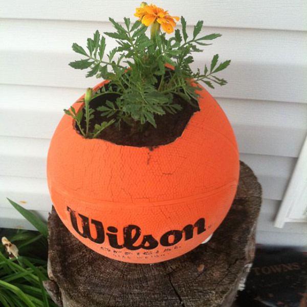 DIY ιδέες γλάστρας από οικιακά είδη22