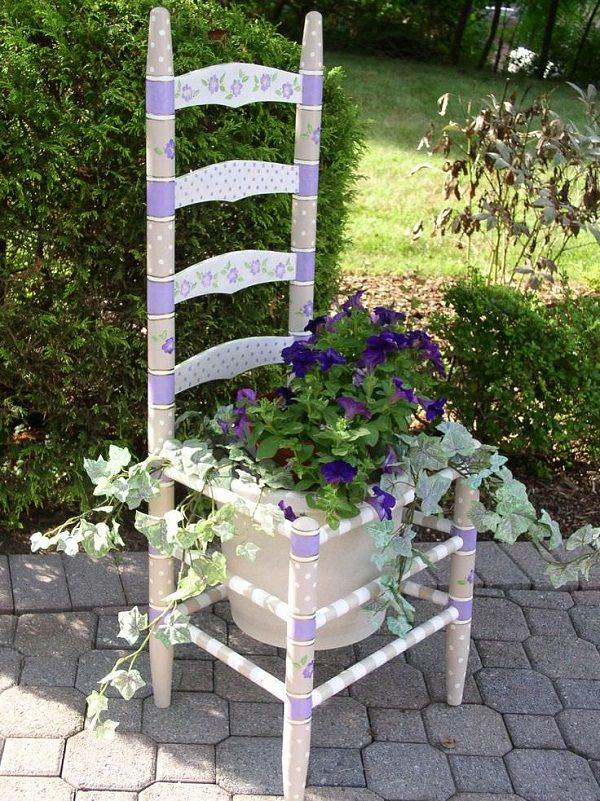 DIY ιδέες γλάστρας από οικιακά είδη8