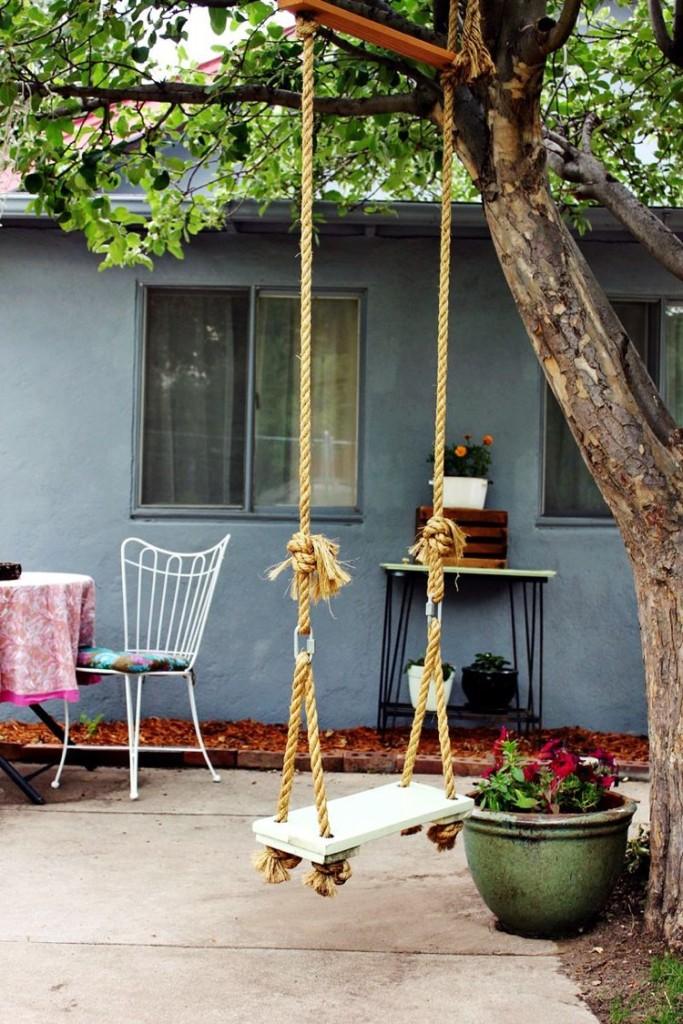 Diy φθηνά έπιπλα κήπου12