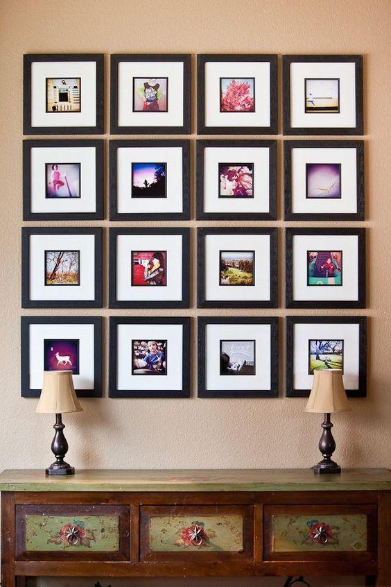 ιδέες για Instagram Gallery ντεκόρ τοίχου16