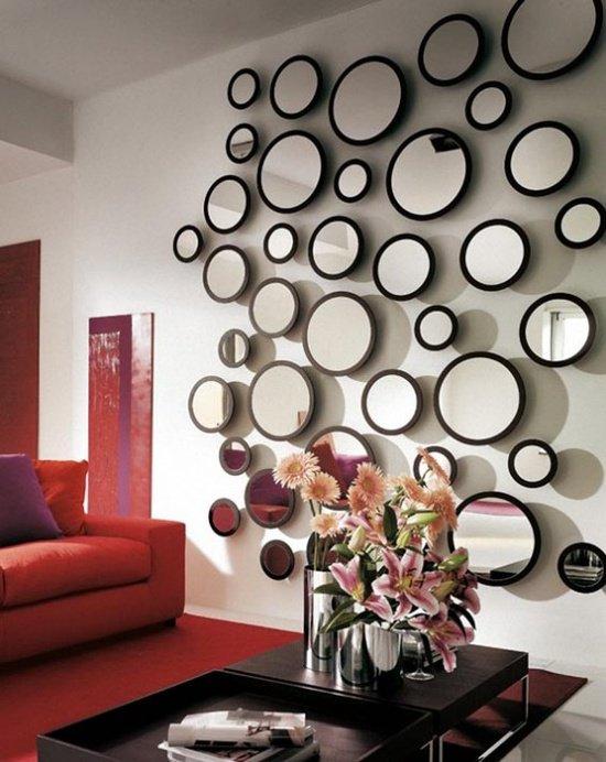κομψά σχέδια καθρεπτών τοίχου5