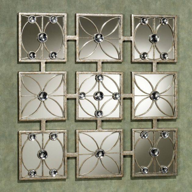 κομψά σχέδια καθρεπτών τοίχου6