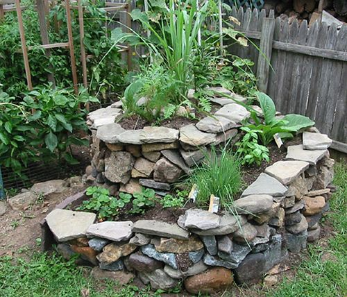 σπιράλ σχέδια κήπου12