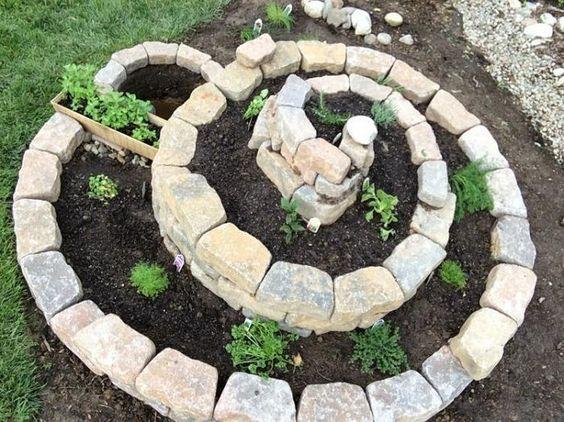 σπιράλ σχέδια κήπου6