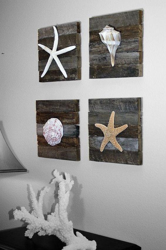 Diy ιδέες θαλασσινής διακόσμησης τοίχου10