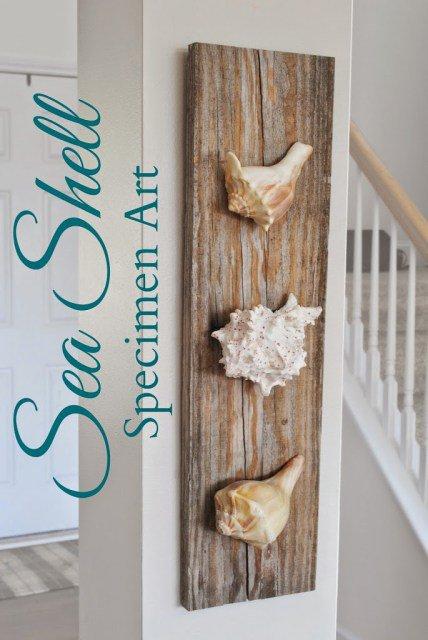 Diy ιδέες θαλασσινής διακόσμησης τοίχου2