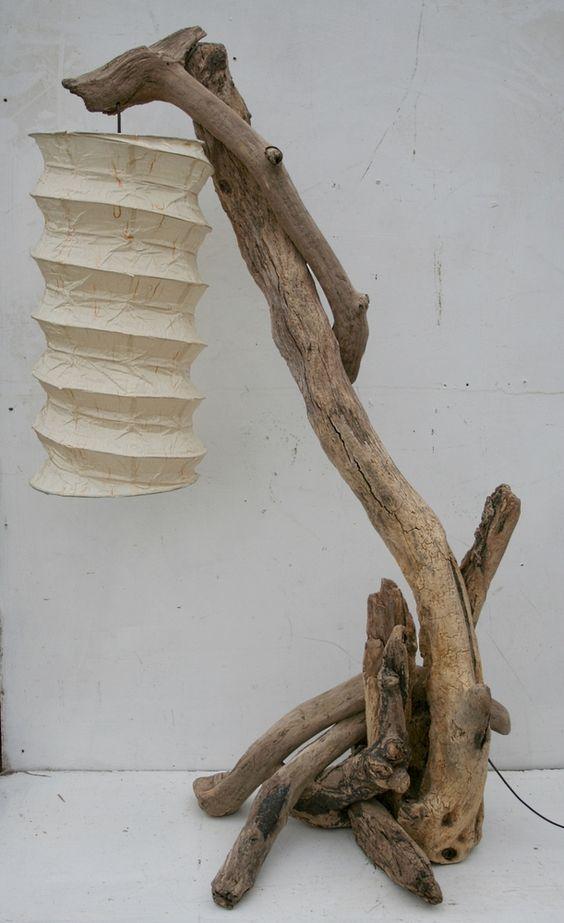 φωτιστικά δαπέδου από θαλασσόξυλα9