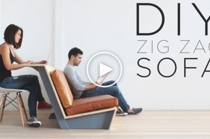 Πώς να κάνετε ένα Μοντέρνο DIY Zig Zag Καναπέ1