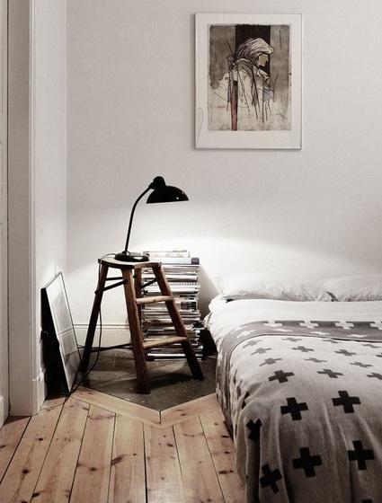 Σκάλες για τη διακόσμηση υπνοδωματίων2