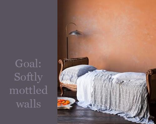 βαψετε ένα καινουργιο τοίχο για να φαίνεται παλιός2
