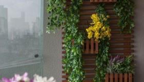 κήπος με λουλούδια στο μπαλκόνι4