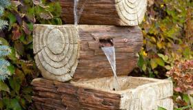 ξύλινα σιντριβάνια κήπου3