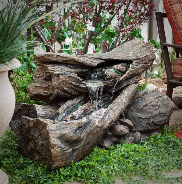 ξύλινα σιντριβάνια κήπου7