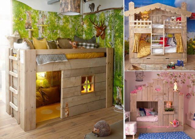 ξύλινα σχέδια κρεβατιών