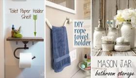 DIY Ιδέες για ντεκόρ στο μπάνιου