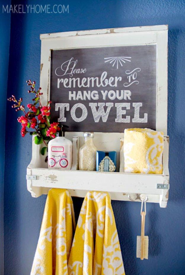 DIY Ιδέες για ντεκόρ στο μπάνιου15