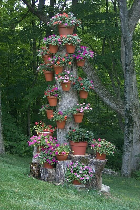 Έμπνευσμένες γλάστρες λουλουδιών13