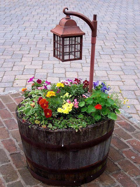 Έμπνευσμένες γλάστρες λουλουδιών14