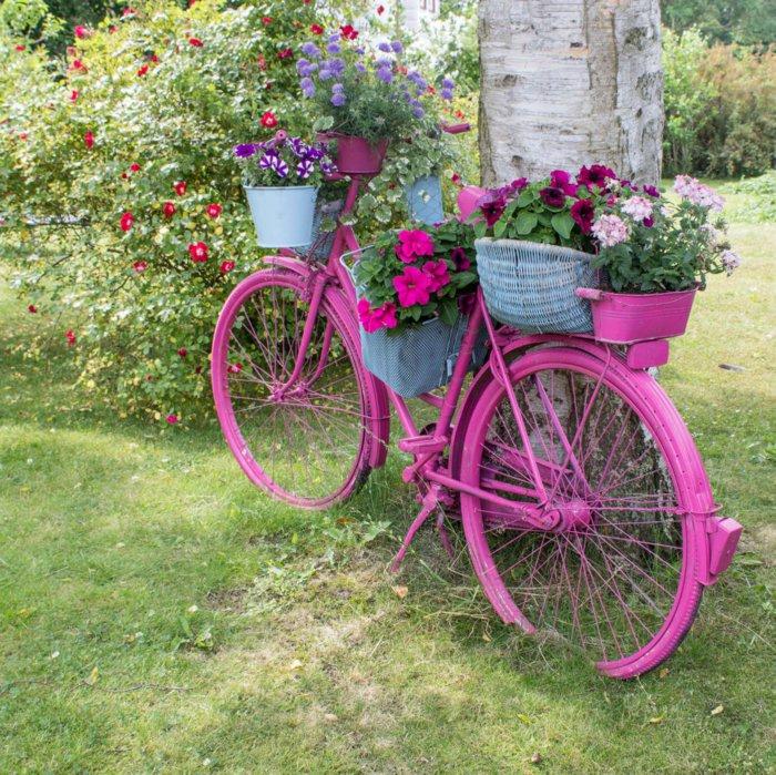 διάκοαμηση κήπου με ποδήλατα1