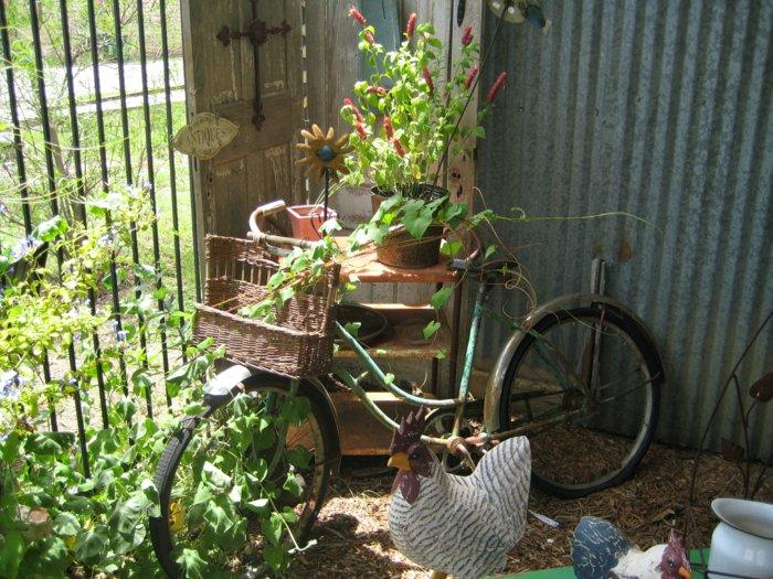 διάκοαμηση κήπου με ποδήλατα11