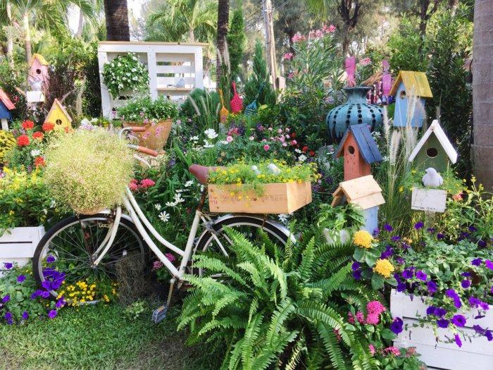 διάκοαμηση κήπου με ποδήλατα14