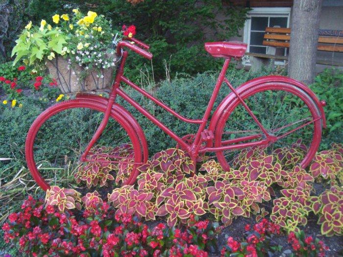 διάκοαμηση κήπου με ποδήλατα16