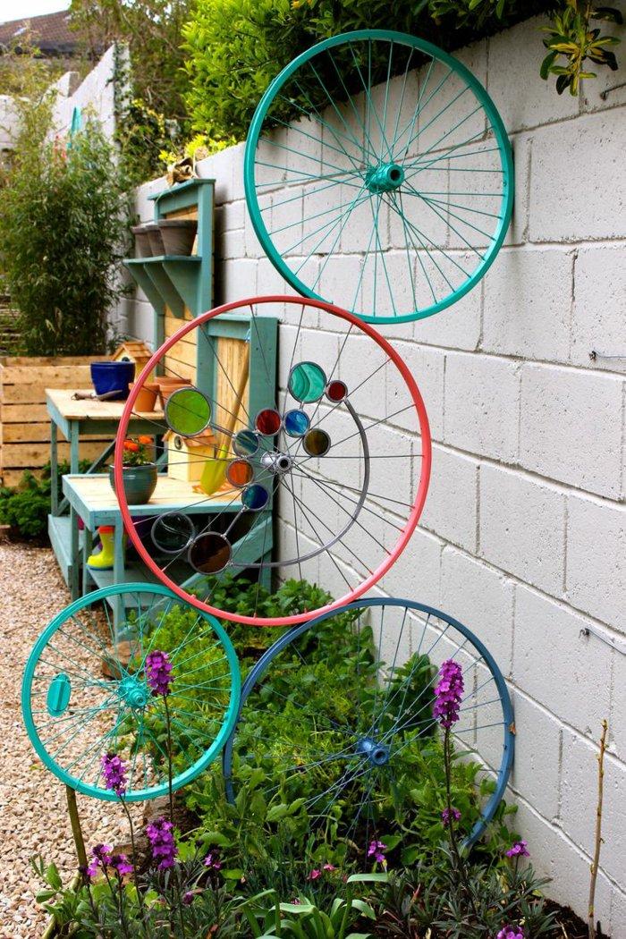 διάκοαμηση κήπου με ποδήλατα19