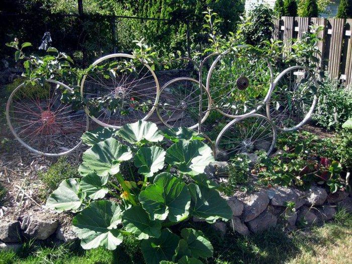 διάκοαμηση κήπου με ποδήλατα21