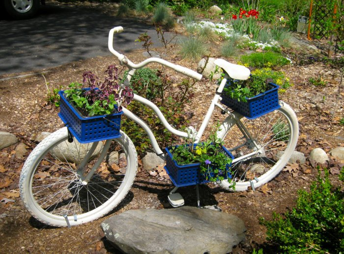 διάκοαμηση κήπου με ποδήλατα8