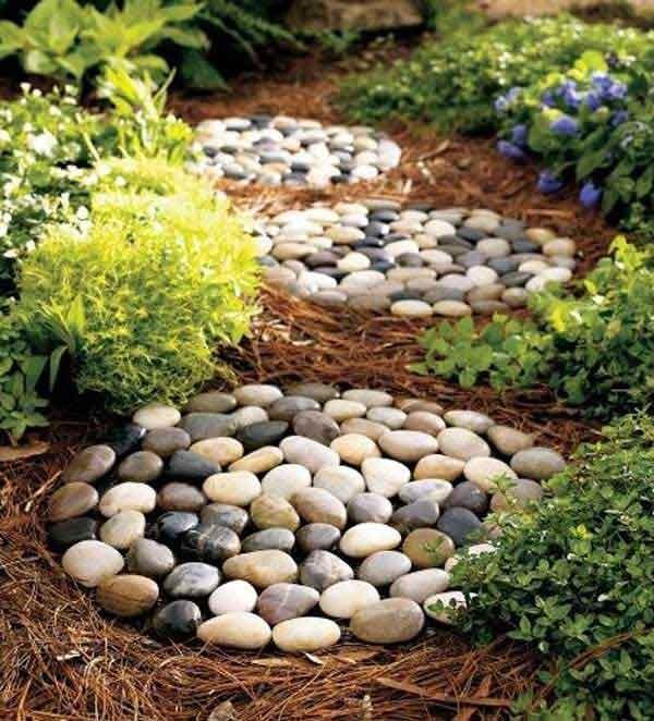 πέτρινα ντεκόρ για τον κήπο σας13