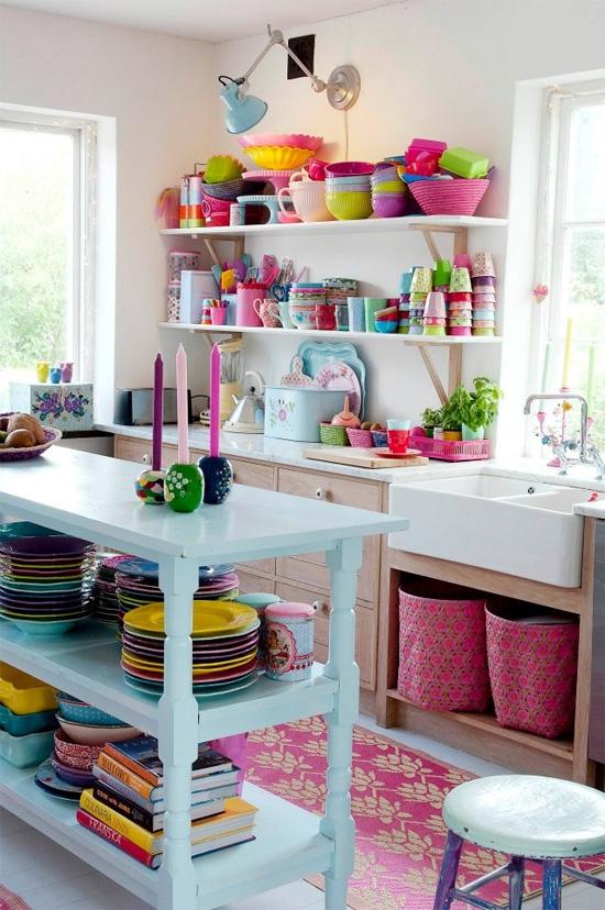 πολύχρωμες κουζίνες3